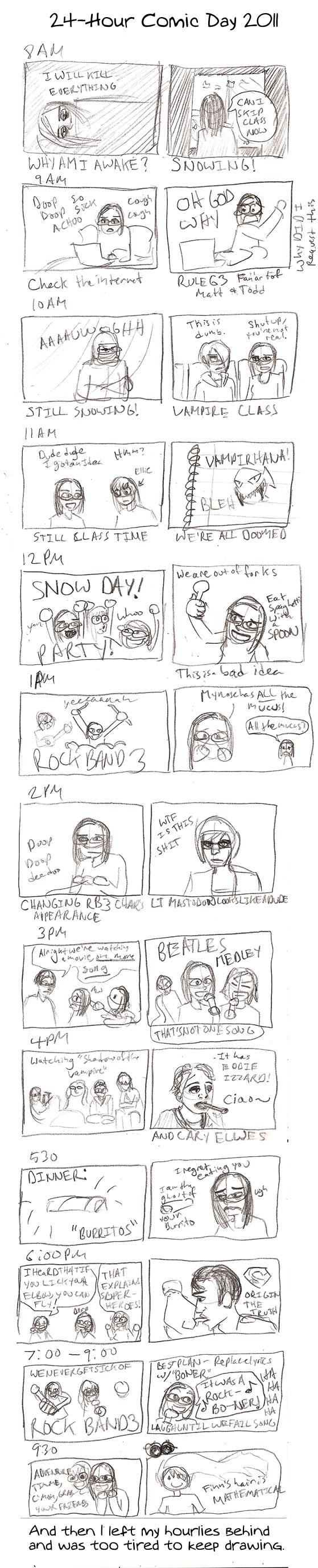 Hourly Comic Day 2011